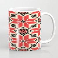 ukraine Mugs featuring Folk Ukraine  by florenceK