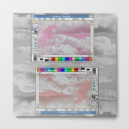 aesthetic windows Metal Print