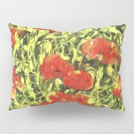 Poppys Van Goth Art Pillow Sham