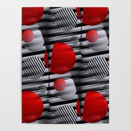 3D - abstraction -38- Poster