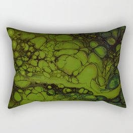 In green pace Rectangular Pillow