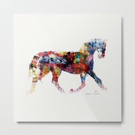 Horse (Freedom of skin) Metal Print