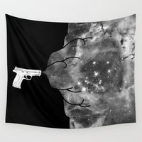 big bang Wall Tapestries featuring Big Bang by Beyond Infinite