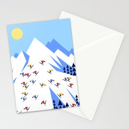 THE MOUNTAINS. PERFECT DAY! Stationery Cards