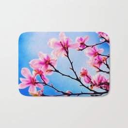 Spring Tree Art Bath Mat
