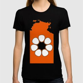 Northern Territory Australia Map with NT Flag T-shirt