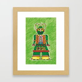 daz-bot by Nettwork2Design - nettie heron-middleton Framed Art Print