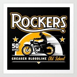 Greaser Bloodline Art Print
