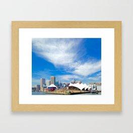 Colors of Baltimore Framed Art Print