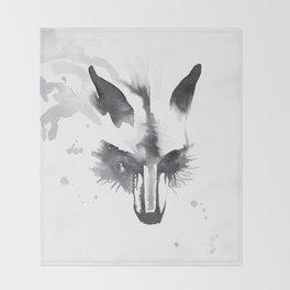 October Fox Throw Blanket