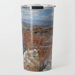 Snow in Bryce Canyon Utah Travel Mug