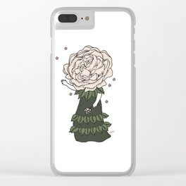 Rose Child Clear iPhone Case