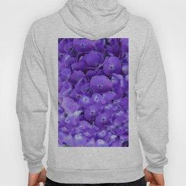 Amethyst  Hydrangea Flowers Garden Art Hoody