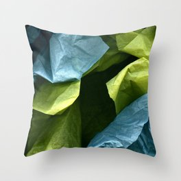 Pretty Paper Place Throw Pillow
