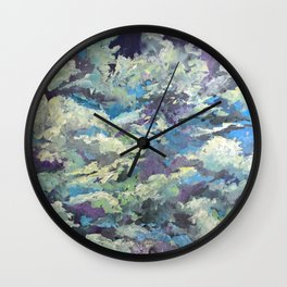Dream Flight Clouds Wall Clock