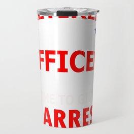 Retired Police Officer Gift for Police Retirement Design Travel Mug