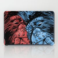 gladiator iPad Cases featuring PNKMNKY by karakalemustadi