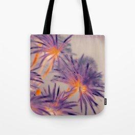 Purple Fairy Flowers Tote Bag