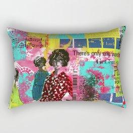 Fashion in Paris Rectangular Pillow
