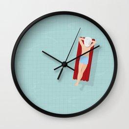 air bed Wall Clock