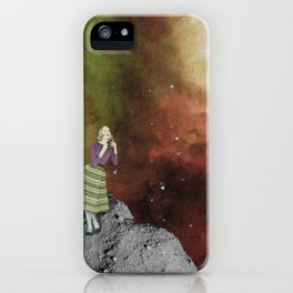 Lady in Space III iPhone Case