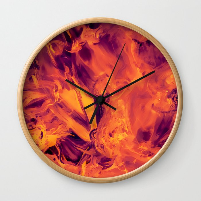 Blended Wall Clock