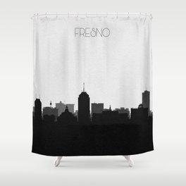 City Skylines: Fresno Shower Curtain