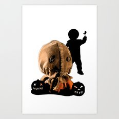 Sam: Monster Madness Series Art Print