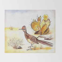 Roadrunner Throw Blanket