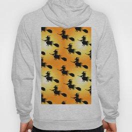 Halloween witch pattern Hoody