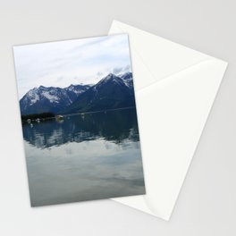 Peaceful Evening At The Lake Stationery Cards