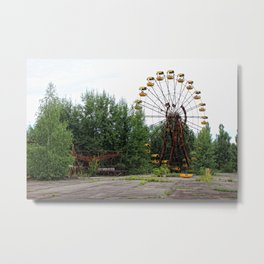 Theme Park Metal Print