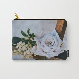 Rose on the Cross (Color) Carry-All Pouch