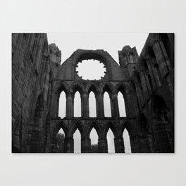 Godly ruins Canvas Print