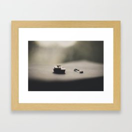 Miniature Violin (2) Framed Art Print