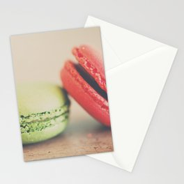 pistachio & strawberry ... Stationery Cards