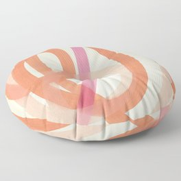 Valentine #6 - Abstract Art Print Floor Pillow