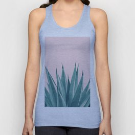 Blush Agave Dream #1 #tropical #decor #art #society6 Unisex Tank Top