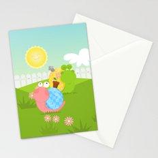Snails Stationery Cards