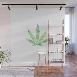 Smoke Weed 420 | Cannabis Leaf Art Work Gifts Wall Mural