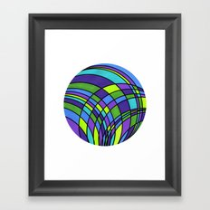 Circle Series #2 Framed Art Print