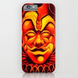 Fire Clown iPhone Case