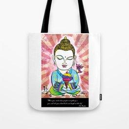 Buddha's Delight Tote Bag