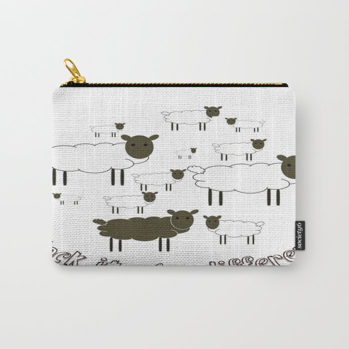 Flock It - Be Different Carry-All Pouch