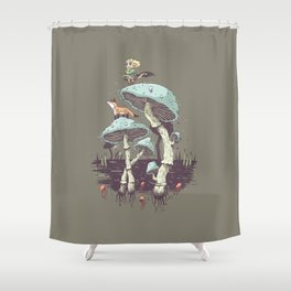 Elven Ranger Shower Curtain