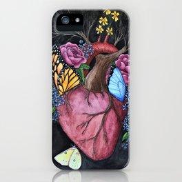 Botanical Heart iPhone Case