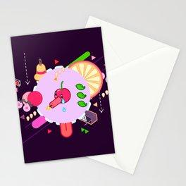 Tasty Visuals - Cherry Poppin' (No Grid) Stationery Cards