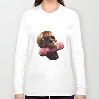 polygon Long Sleeve T-shirts featuring Poison Polygon by Kassidy201