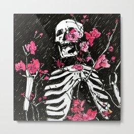 BONES DON'T LIE Metal Print