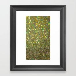 Partytime Gold Framed Art Print